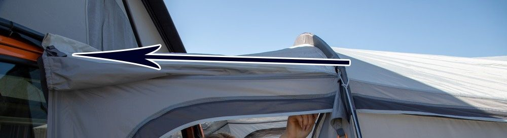 Anchoring your awning down